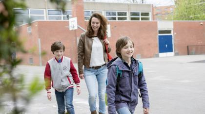 Foto Moeder met kids 04
